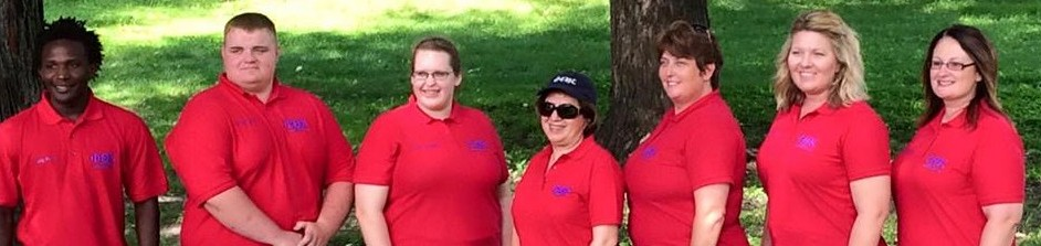 Iowa Regional Officer Team - Red Shirts